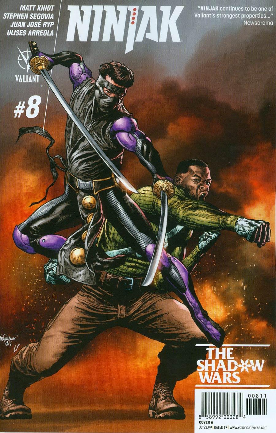 Ninjak Vol 3 #8 Cover A Regular Mico Suayan Cover