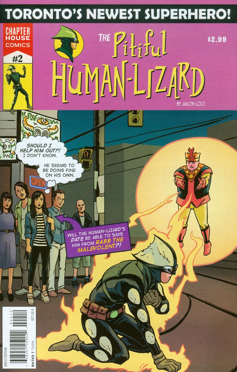 Pitiful Human-Lizard #2