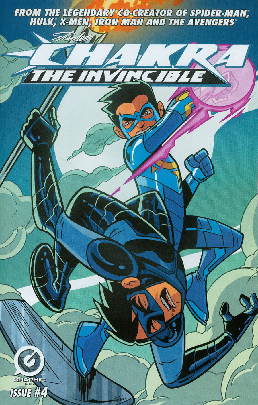 Stan Lees Chakra The Invincible #4
