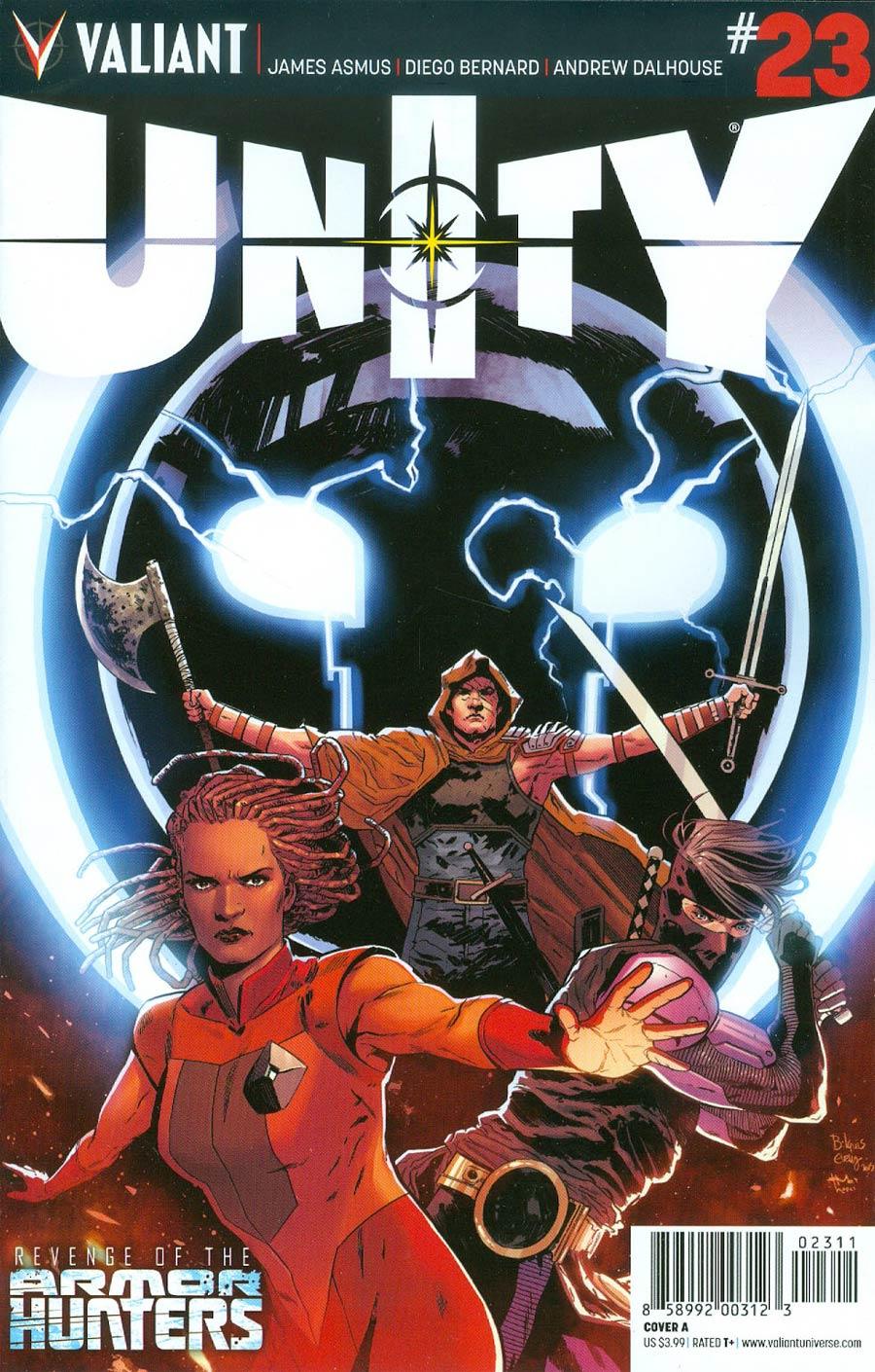 Unity Vol 2 #23 Cover A Regular Bilquis Evely Cover