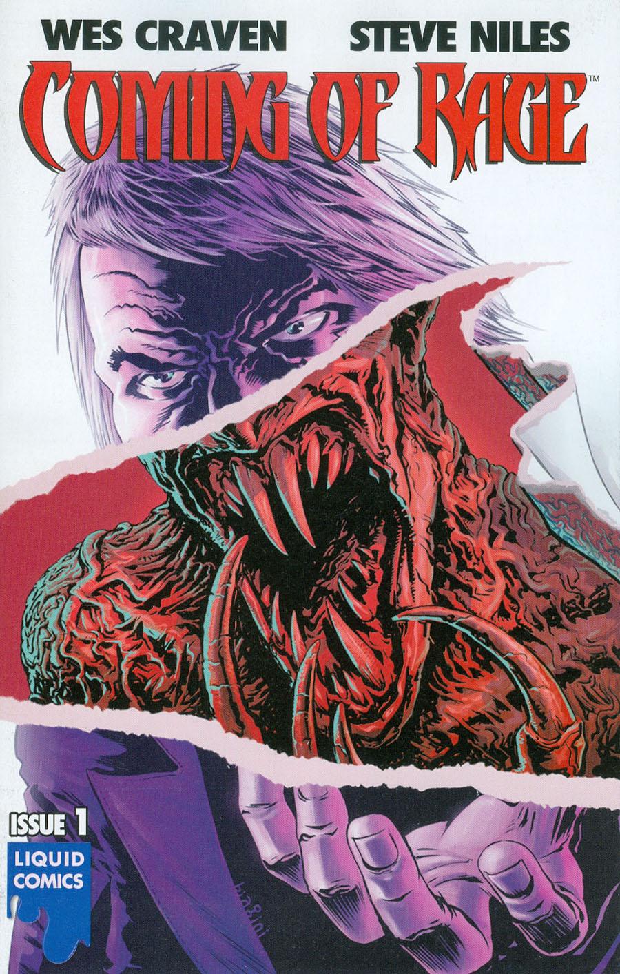 Wes Cravens Coming Of Rage #1 Cover A Regular Francesco Biagini Cover
