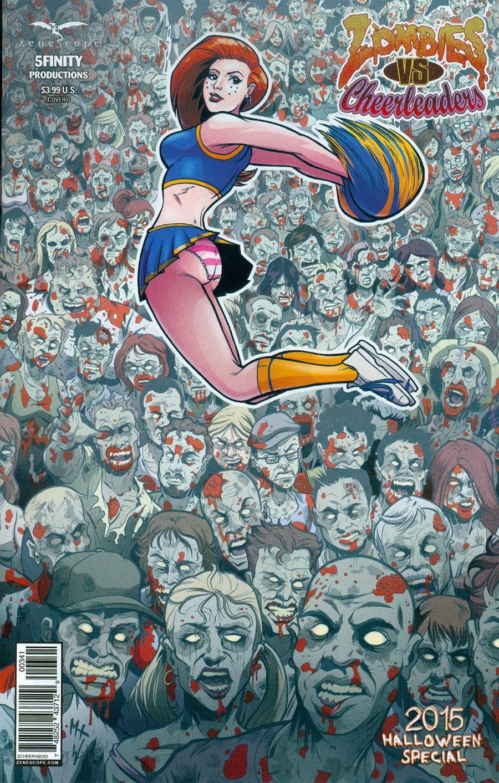 Zombies vs Cheerleaders Halloween Special 2015 #1 Cover D Matt Hebb