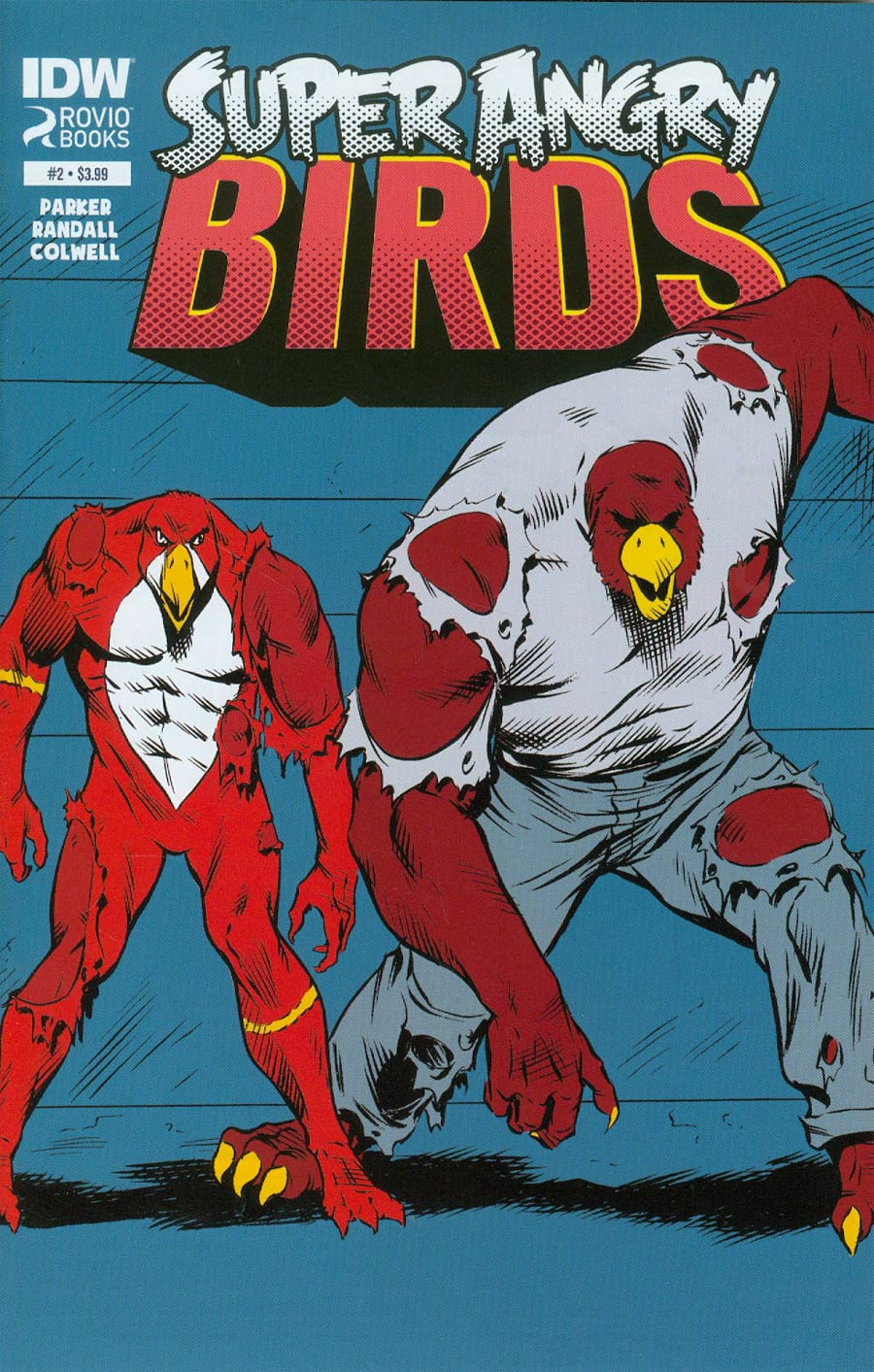 Angry Birds Super Angry Birds #2 Cover A Regular Ron Randall Cover