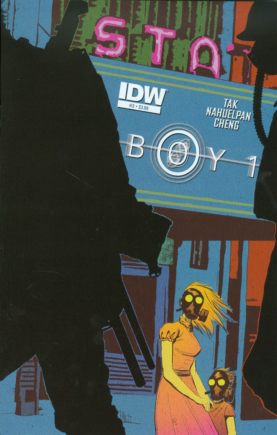 Boy-1 #3 Cover A Regular Brent McKee Cover