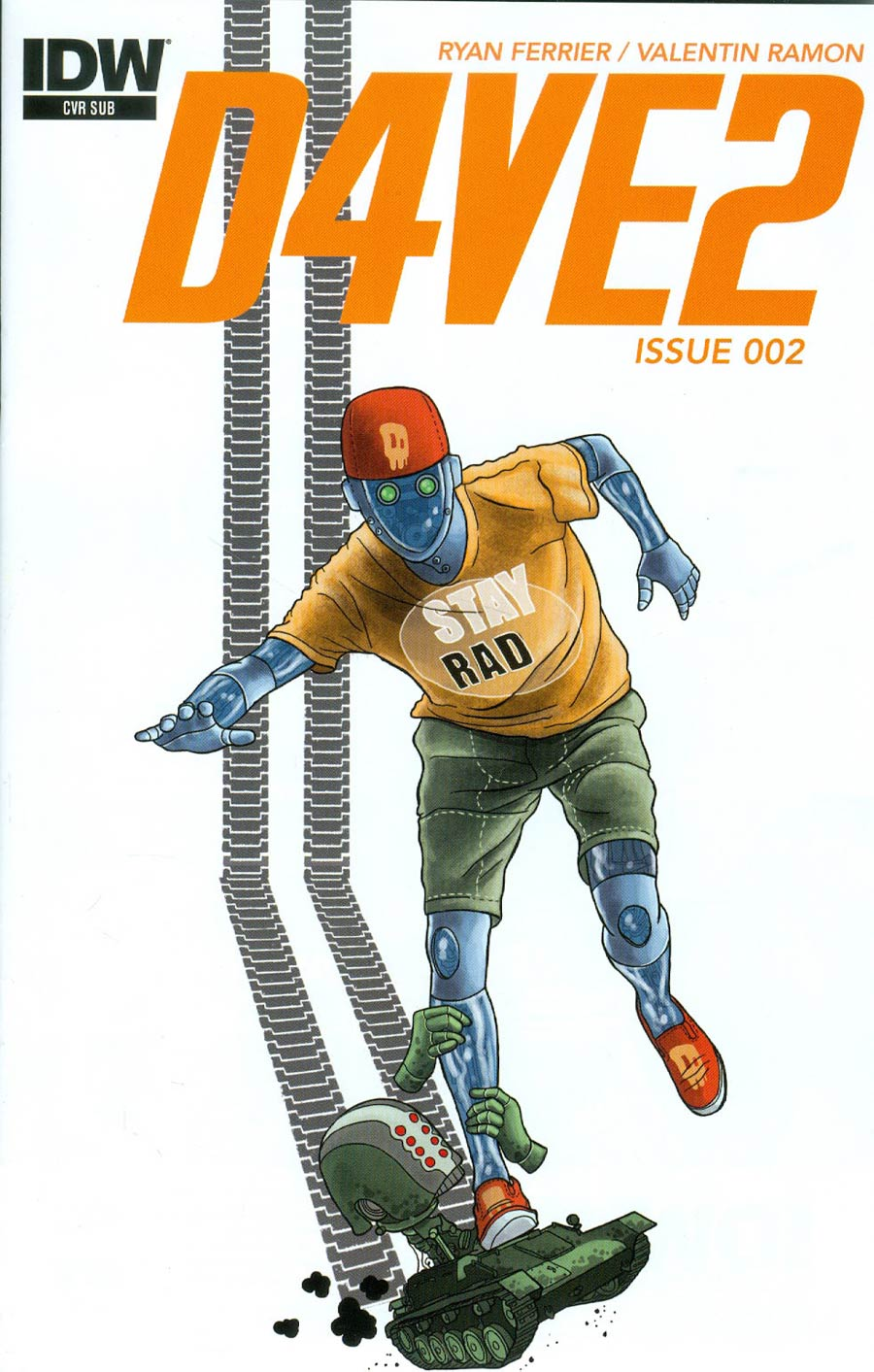 D4VE2 #2 Cover B Variant Valentin Ramon Subscription Cover