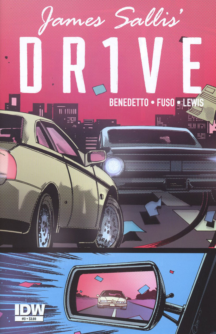 Drive #3 Cover A Regular Antonio Fuso Cover