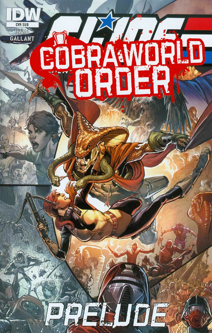 GI Joe A Real American Hero Cobra World Order Prelude Cover C Variant Phil Jimenez Subscription Cover