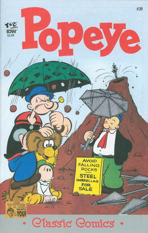 Classic Popeye #39 Cover A Regular Bud Sagendorf Cover
