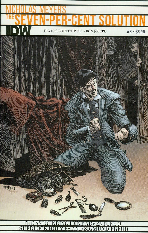 Sherlock Holmes Seven-Per-Cent Solution #3 Cover A Regular Kelley Jones Cover