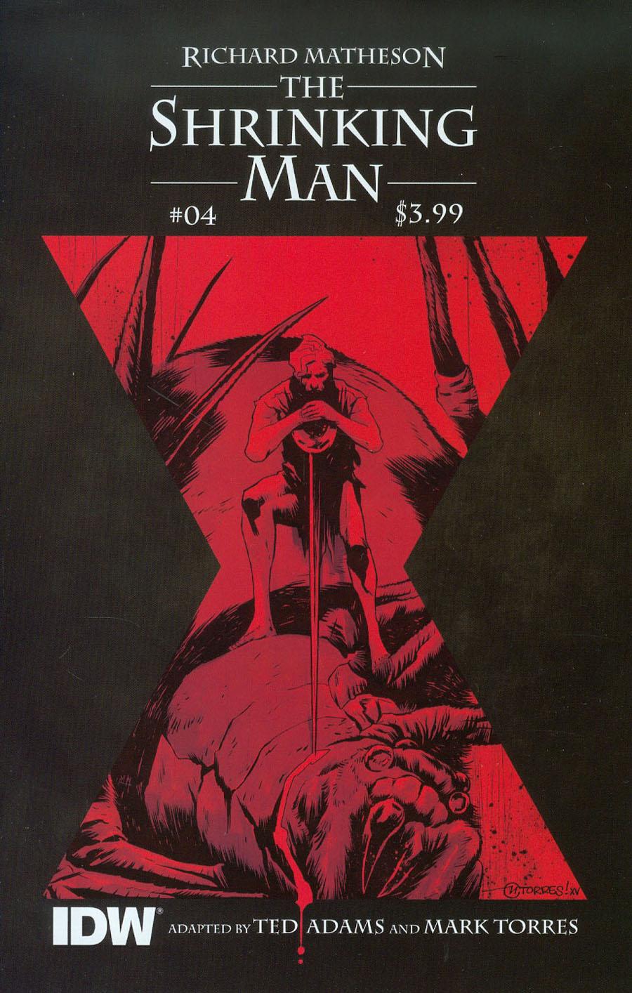 Shrinking Man #4 Cover B Variant Mark Torres Subscription Cover
