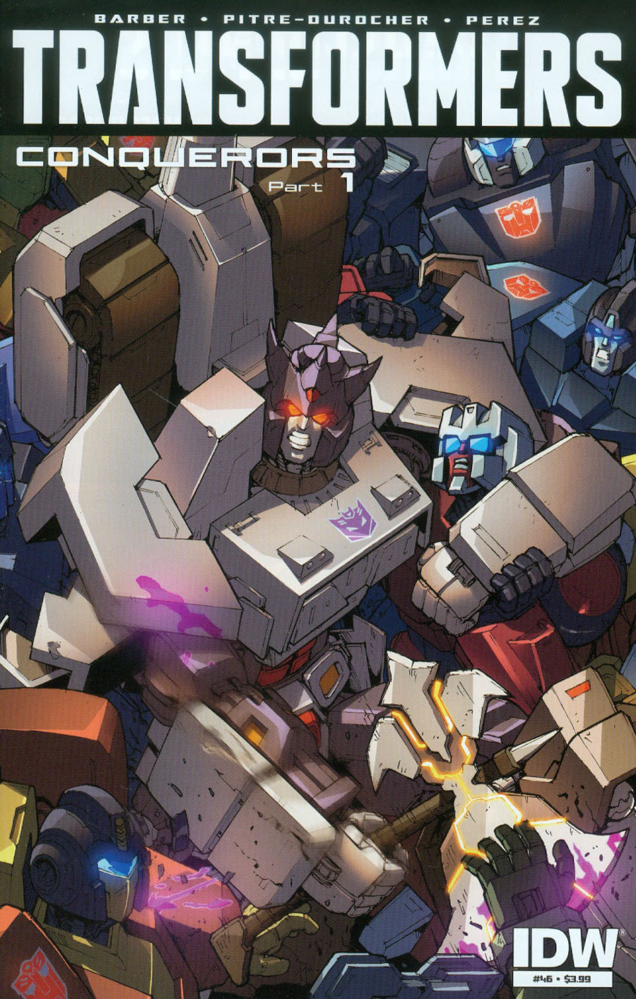 Transformers Vol 3 #46 Cover A Regular Andrew Griffith Cover