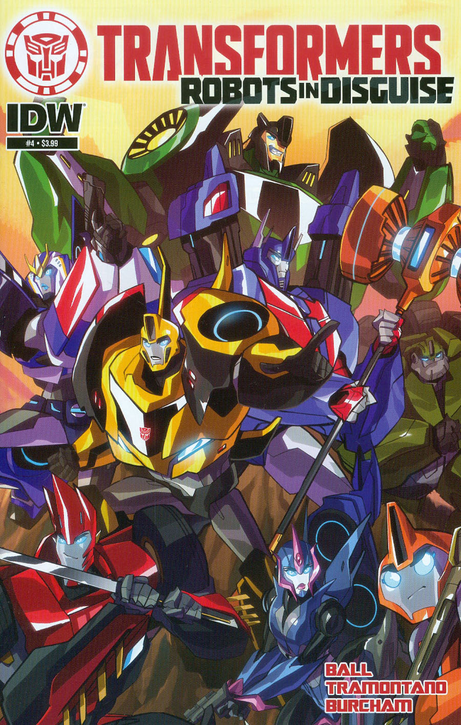 Transformers Robots In Disguise Animated #4 Cover A Regular Priscilla Tramontano Cover