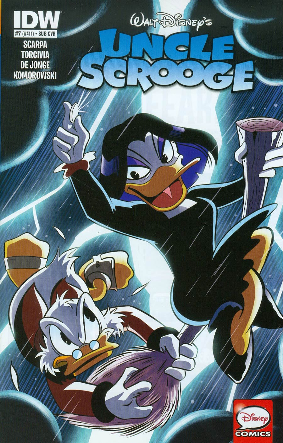 Uncle Scrooge Vol 2 #7 Cover B Variant Derek Charm Subscription Cover