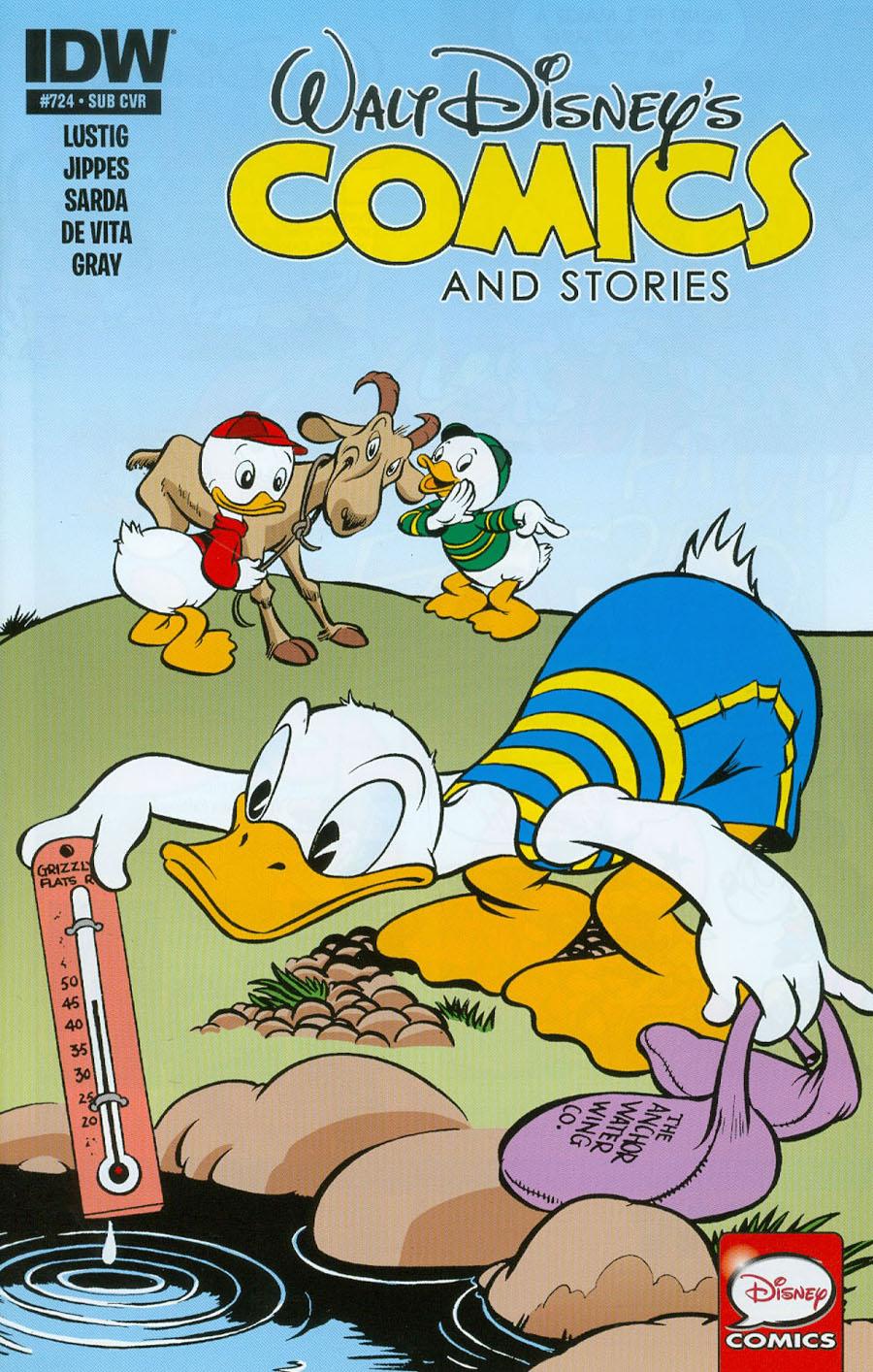 Walt Disneys Comics & Stories #724 Cover B Variant Walt Kelly Subscription Cover