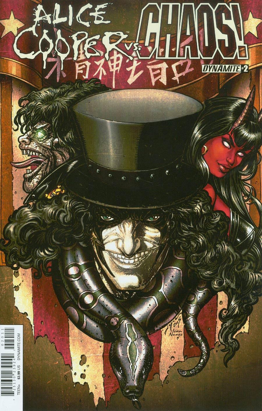 Alice Cooper vs Chaos #2 Cover A Regular Joyce Chin Cover
