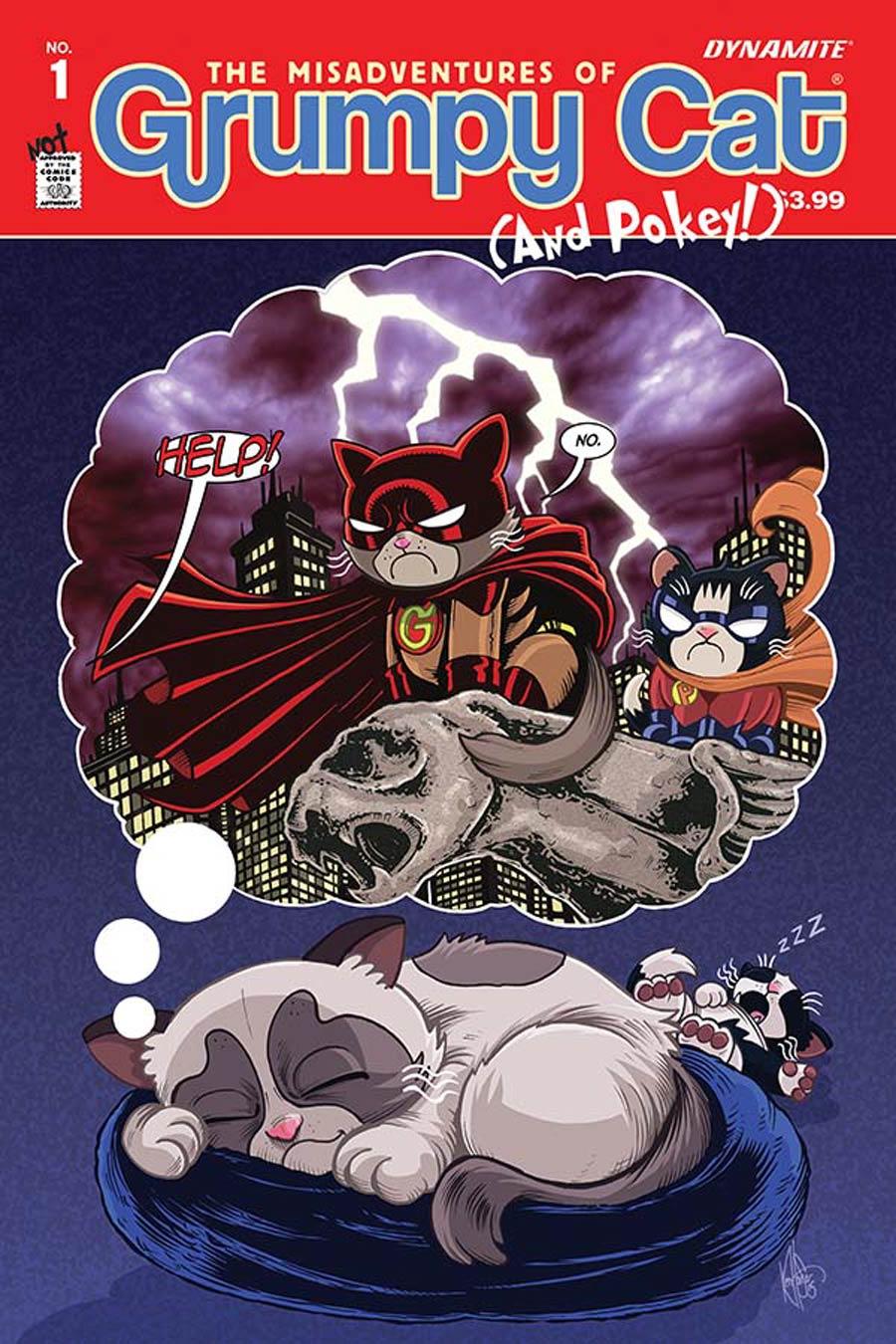 Grumpy Cat #1 Cover C Variant Ken Haeser Cover