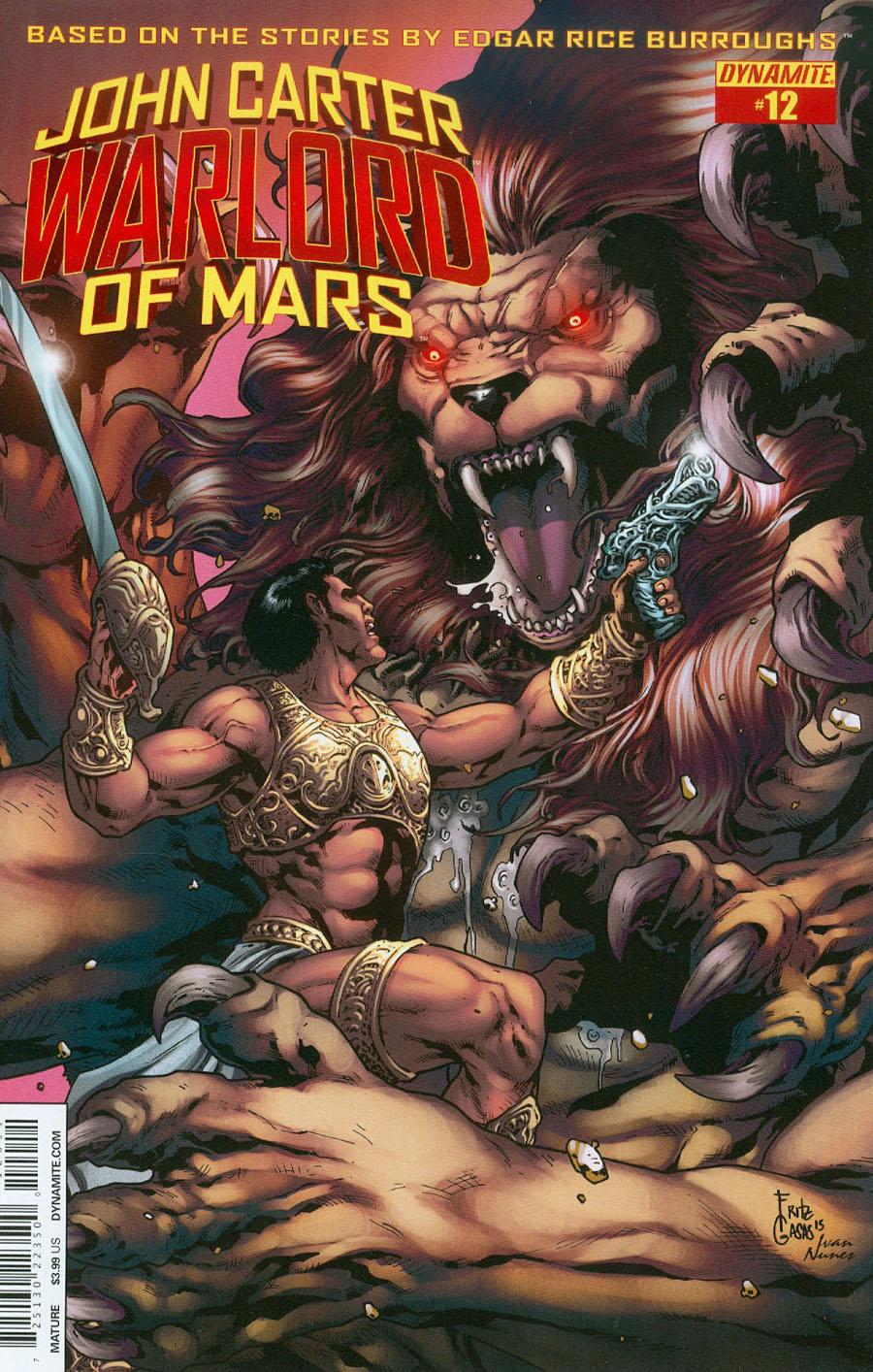 John Carter Warlord Of Mars Vol 2 #12 Cover A Regular Bart Sears Cover