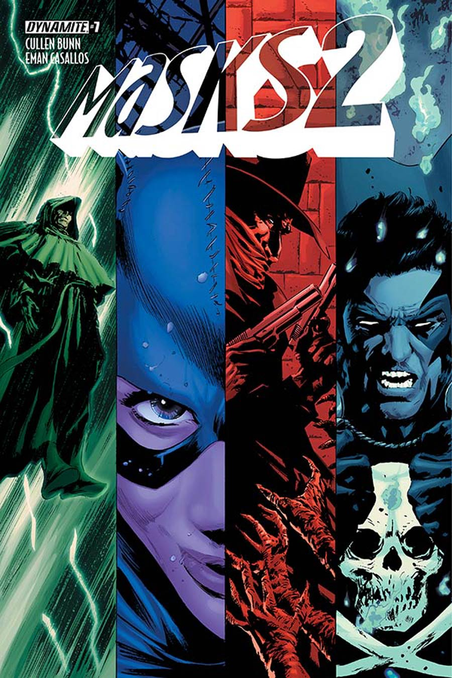 Masks 2 #7 Cover A Regular Butch Guice Cover