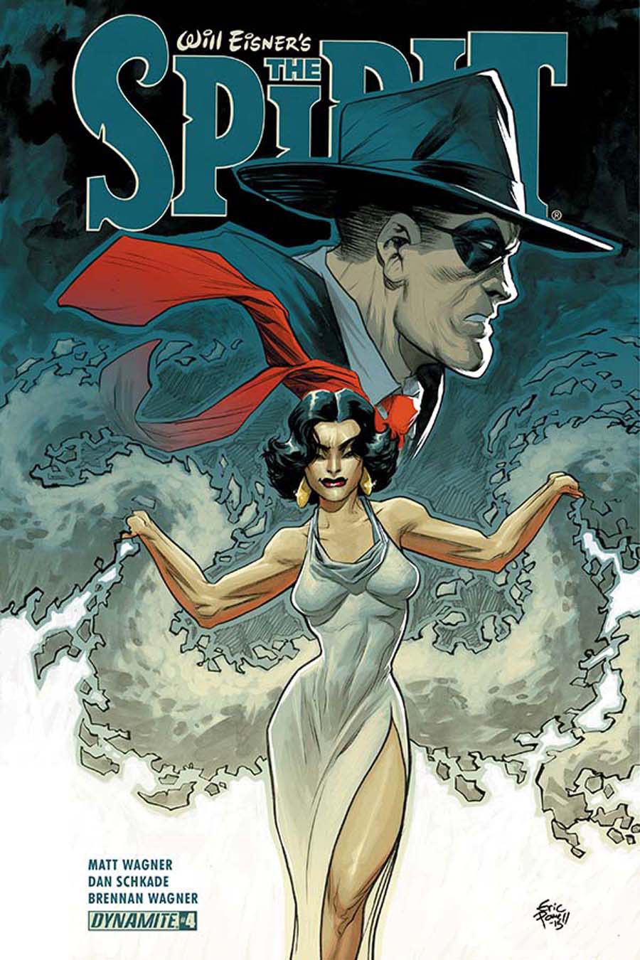 Will Eisners Spirit #4 Cover A Regular Eric Powell Cover