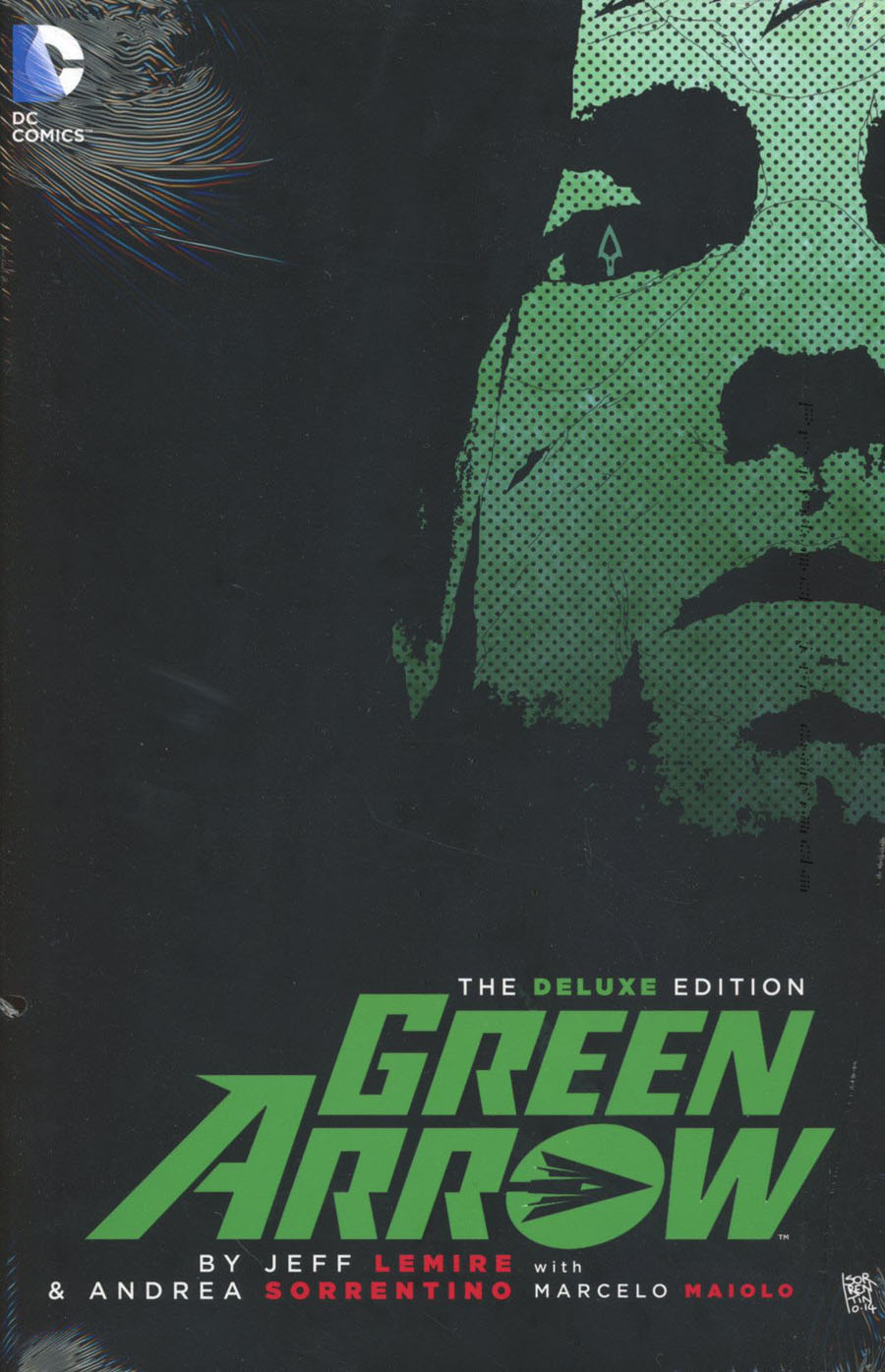 Green Arrow By Jeff Lemire & Andrea Sorrentino Deluxe Edition HC