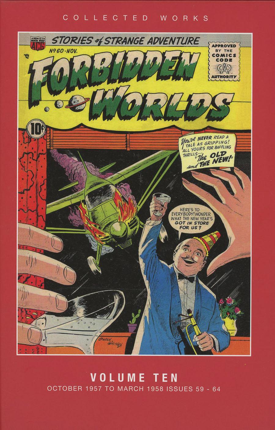 ACG Collected Works Forbidden Worlds Vol 10 HC