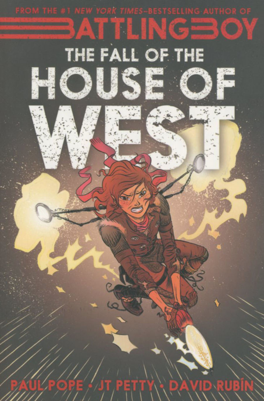 Battling Boy Fall Of The House Of West GN