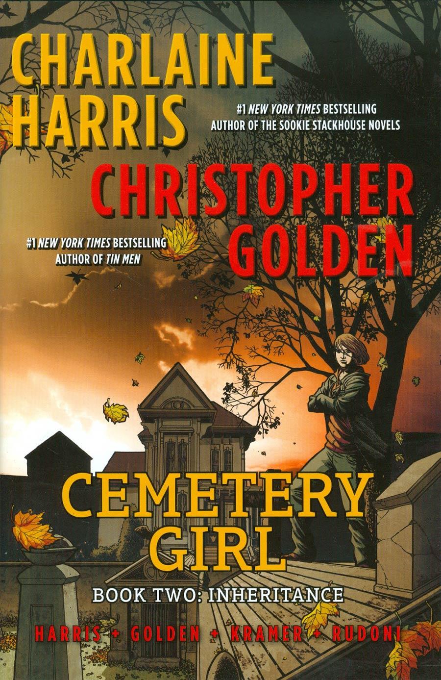 Cemetery Girl Book 2 Inheritance HC