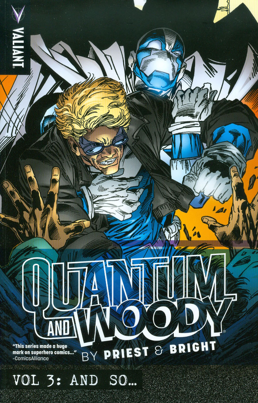 Quantum & Woody By Priest & Bright Vol 3 And So TP