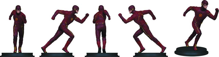 Flash TV Previews Exclusive Statue Paperweight