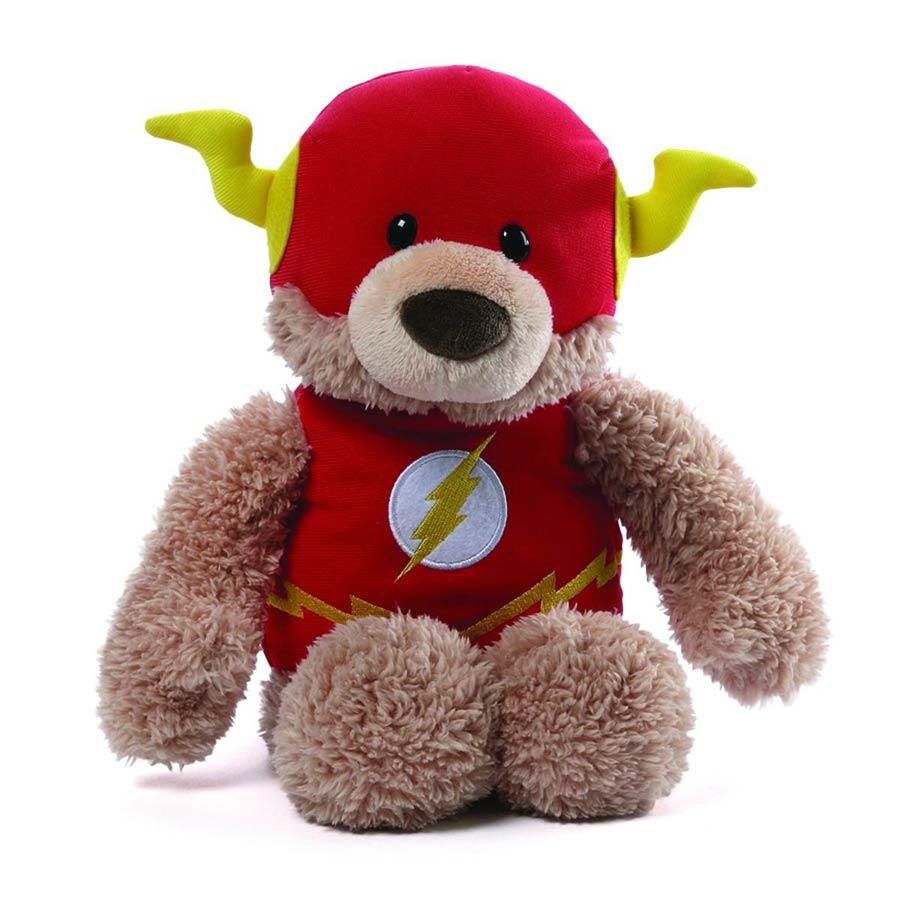 DC Comics Gund 12-Inch Plush - Flash Blaze Teddy Bear