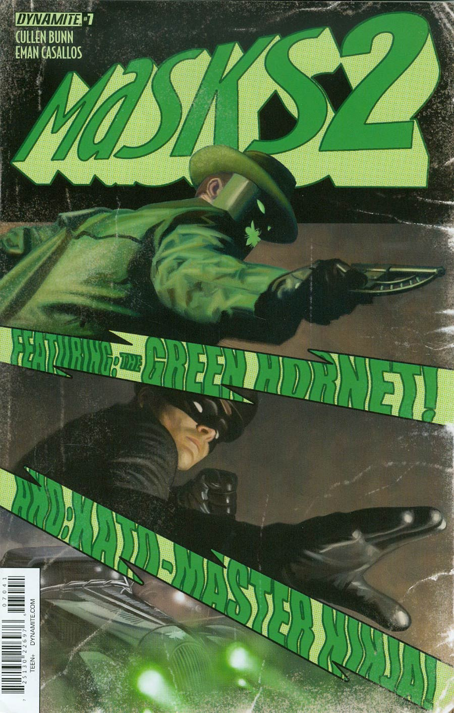 Masks 2 #7 Cover D Incentive Colton Worley Green Hornet Variant Cover