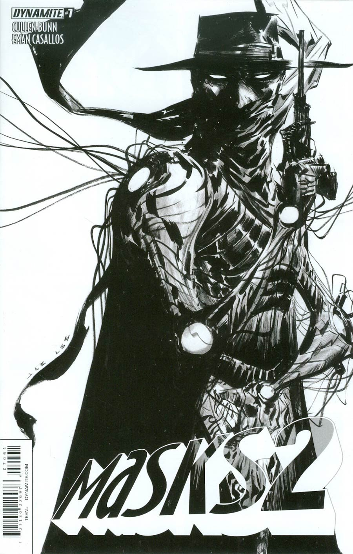 Masks 2 #7 Cover F Incentive Jae Lee Black & White Cover
