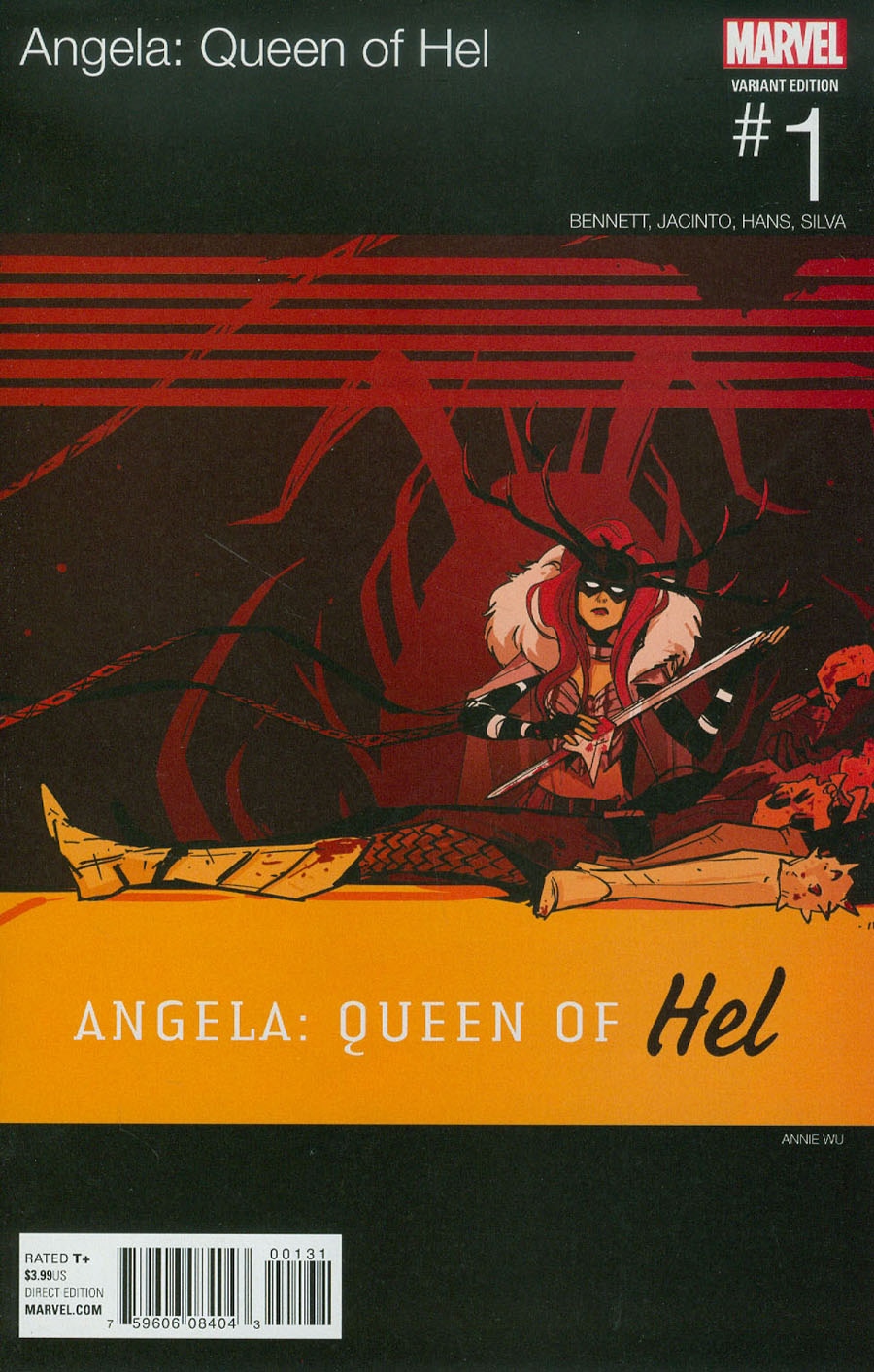 Angela Queen Of Hel #1 Cover B Variant Annie Wu Marvel Hip-Hop Cover