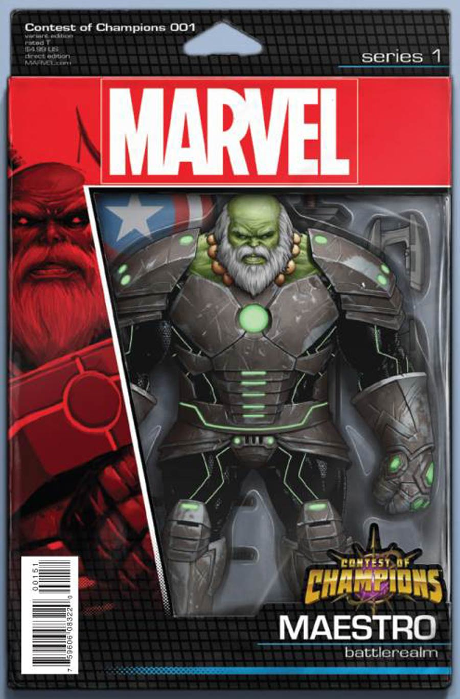 Contest Of Champions Vol 3 #1 Cover E Variant John Tyler Christopher Action Figure Cover