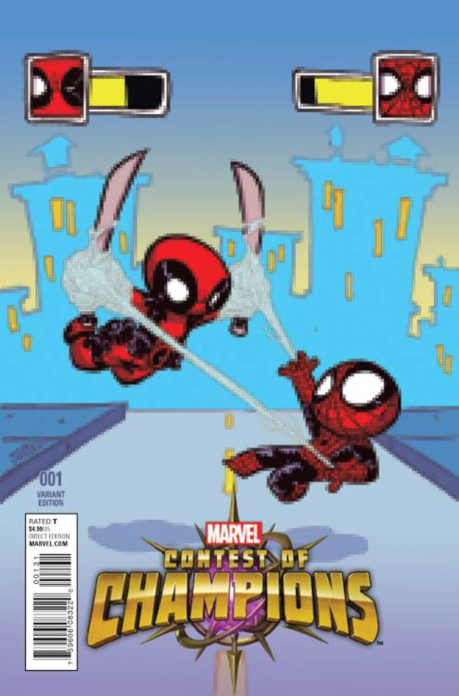 Contest Of Champions Vol 3 #1 Cover C Variant Skottie Young Baby Cover