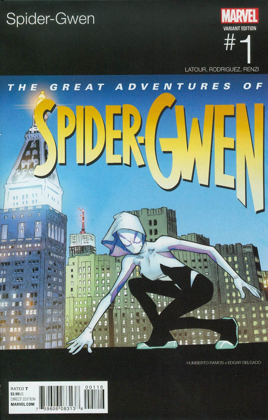 Spider-Gwen Vol 2 #1 Cover C Variant Humberto Ramos Marvel Hip-Hop Cover