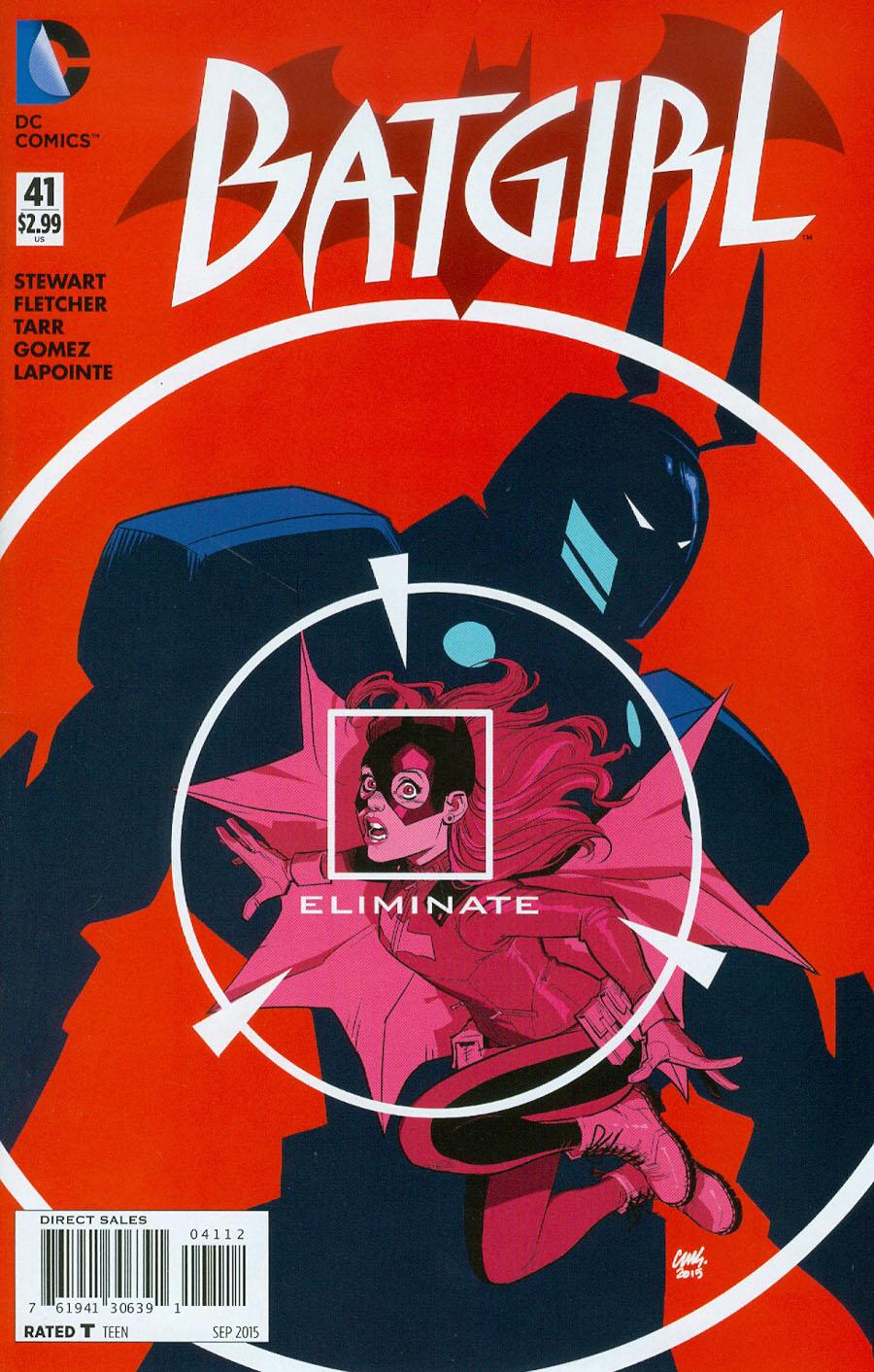 Batgirl Vol 4 #41 Cover B 2nd Ptg Cameron Stewart Variant Cover
