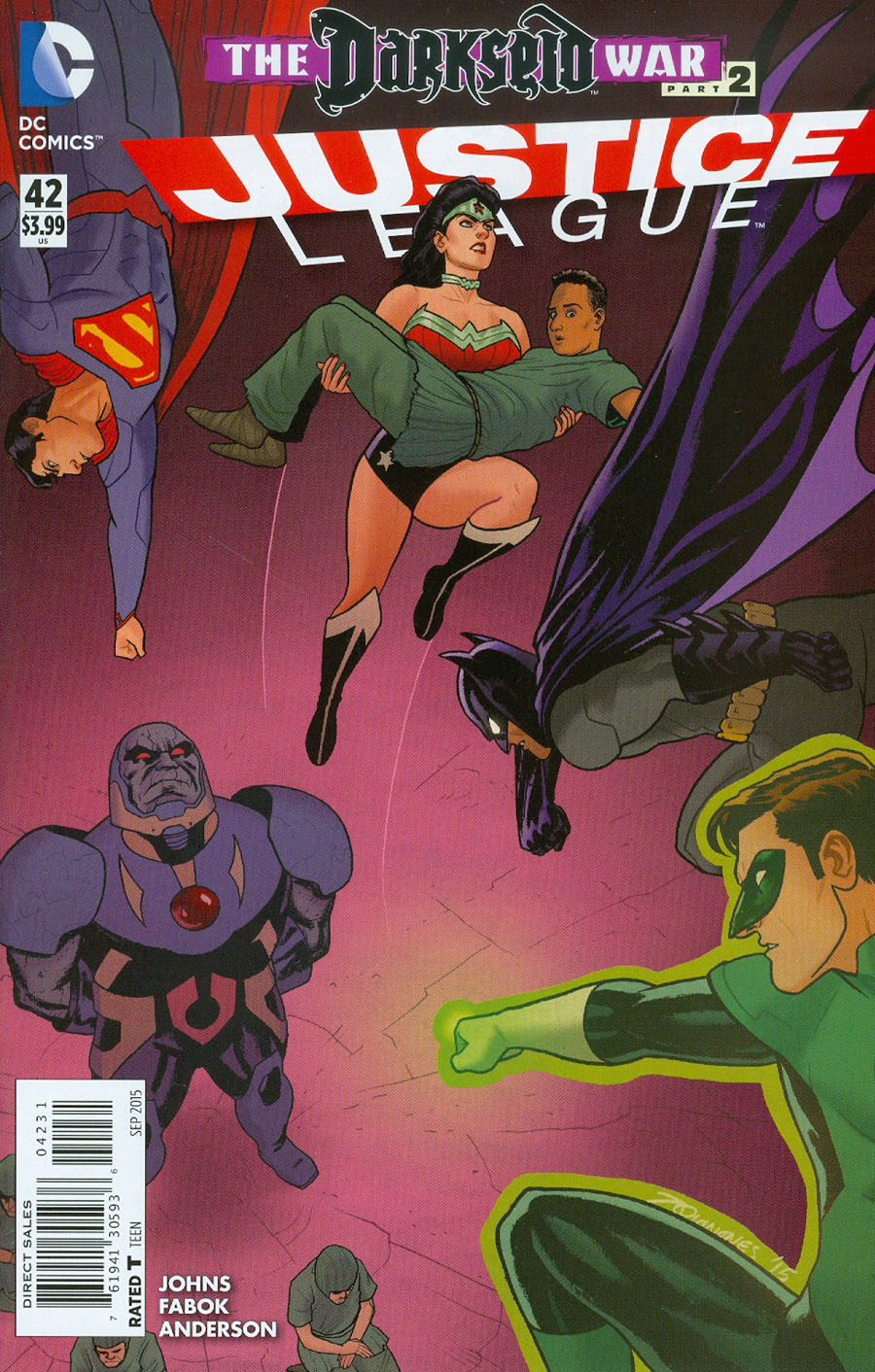 Justice League Vol 2 #42 Cover C Variant Joe Quinones Cover