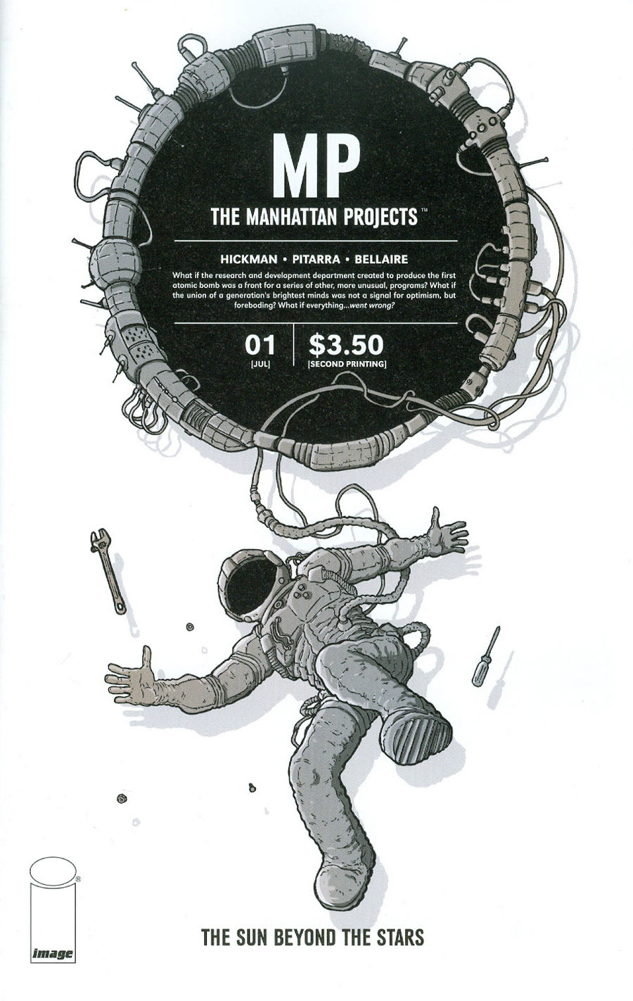 Manhattan Projects Sun Beyond The Stars #1 Cover B 2nd Ptg Nick Pitarra Variant Cover