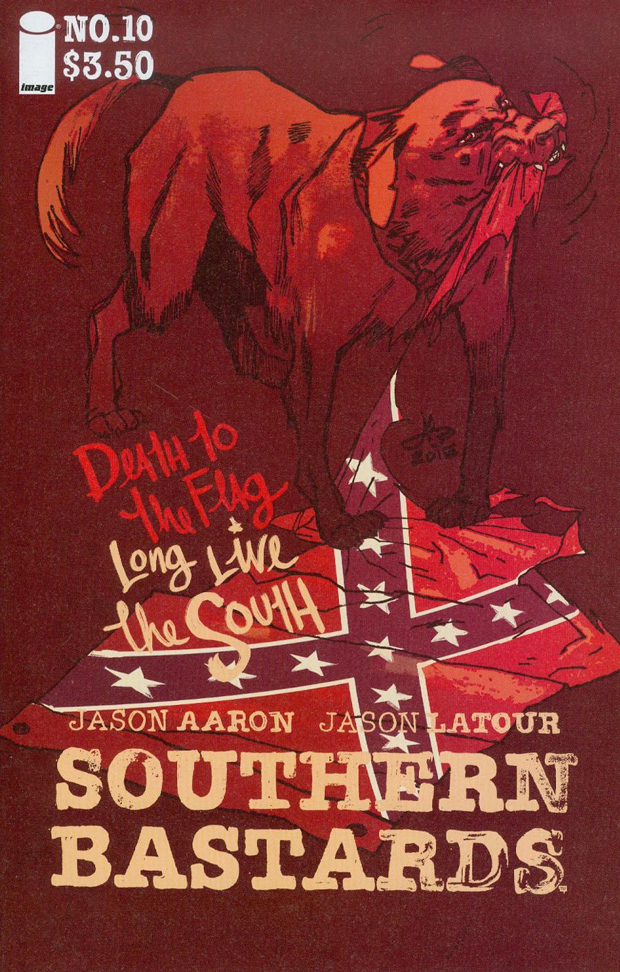 Southern Bastards #10 Cover B Variant Jason Latour Charleston Charity Cover