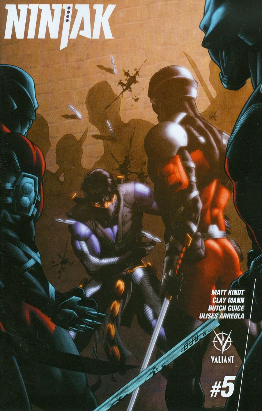 Ninjak Vol 3 #5 Cover D Incentive CAFU Variant Cover
