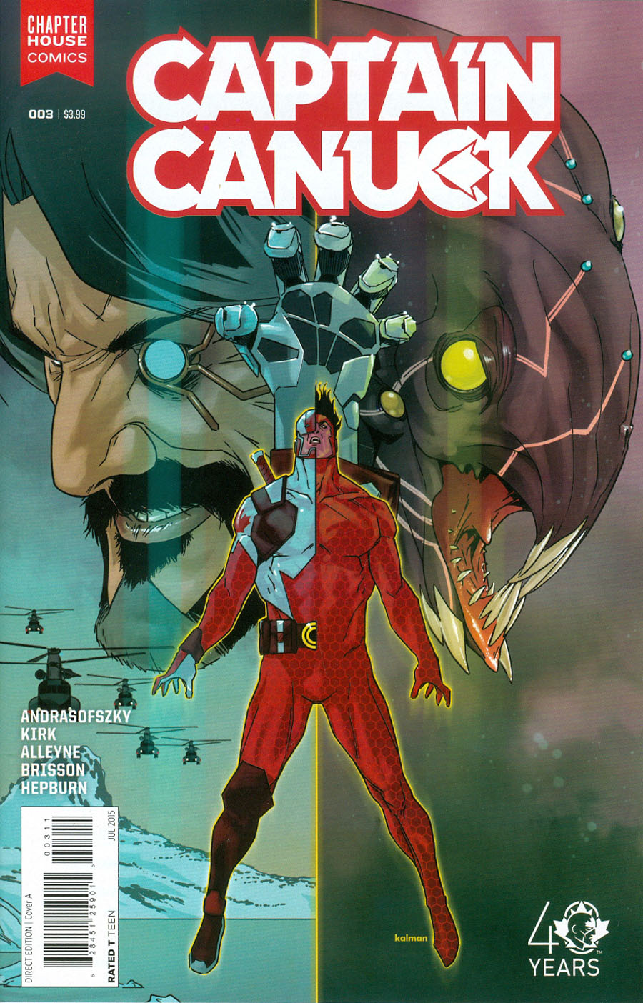 Captain Canuck Vol 2 #3 Cover A Regular Kalman Andrasofszky Cover