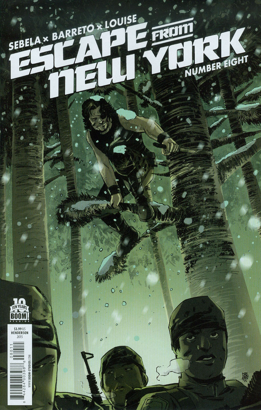 Escape From New York #8 Cover A Regular Mike Henderson Cover