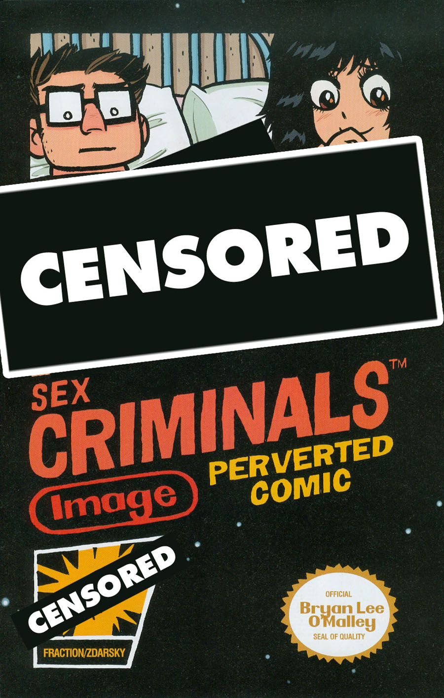 Sex Criminals #11 Cover D Variant Bryan Lee OMalley XXX Cover Without Polybag