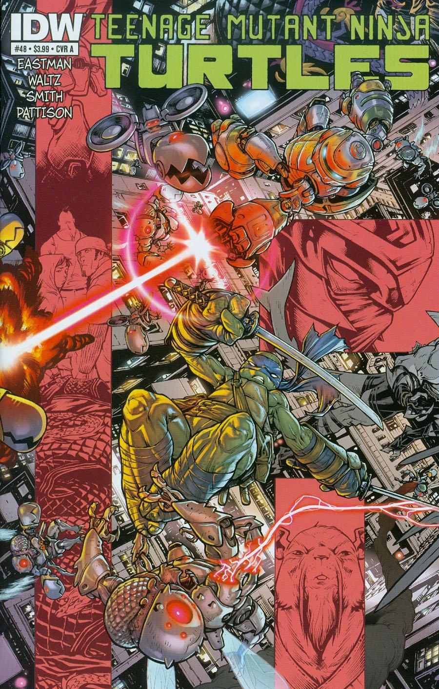 Teenage Mutant Ninja Turtles Vol 5 #48 Cover A Regular Mateus Santolouco Cover