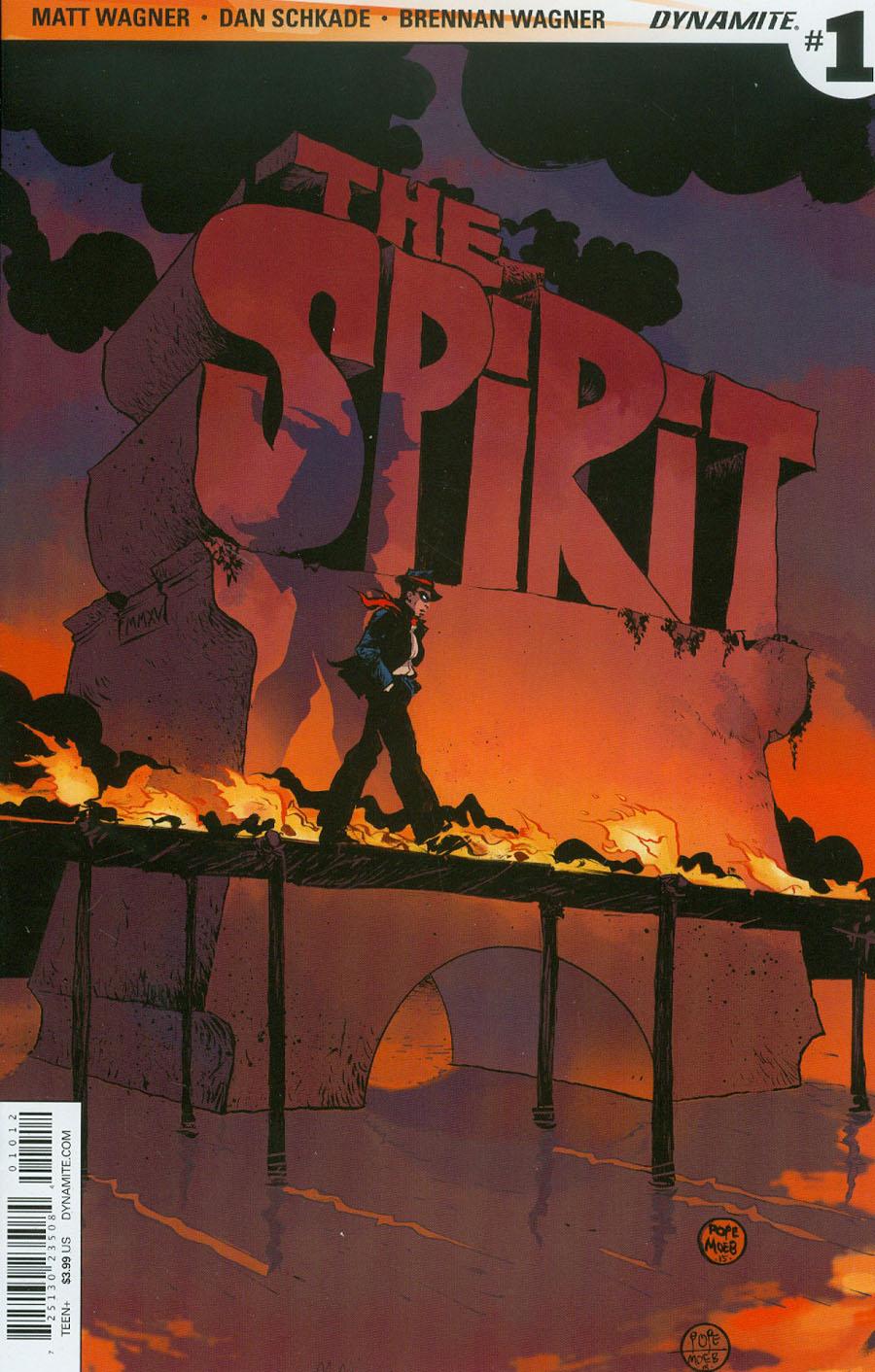 Will Eisners Spirit #1 Cover I 2nd Ptg Paul Pope Variant Cover