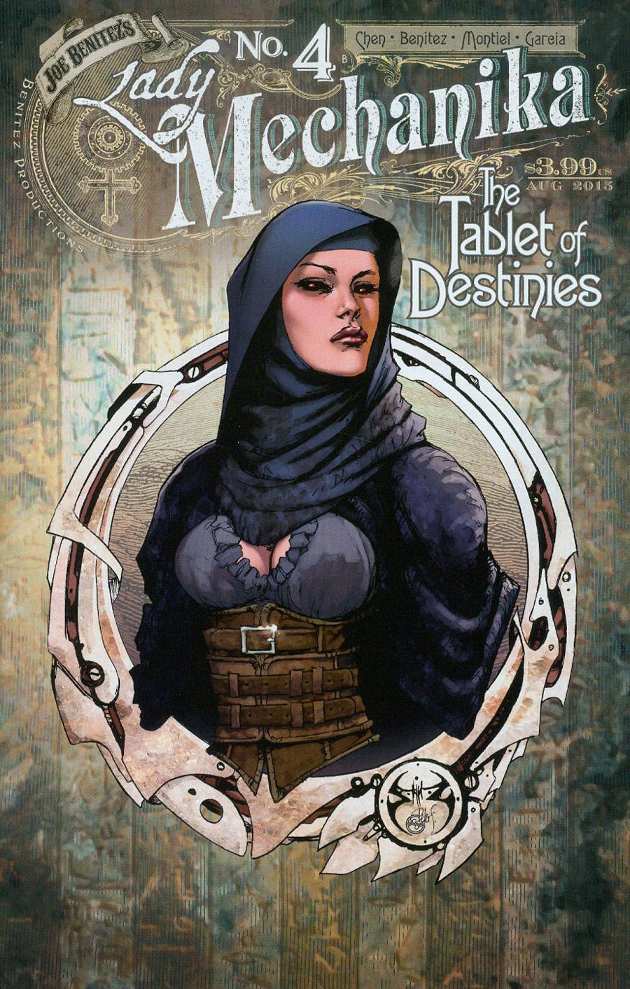 Lady Mechanika Tablet Of Destinies #4 Cover B Regular Joe Benitez & Peter Steigerwald Cover