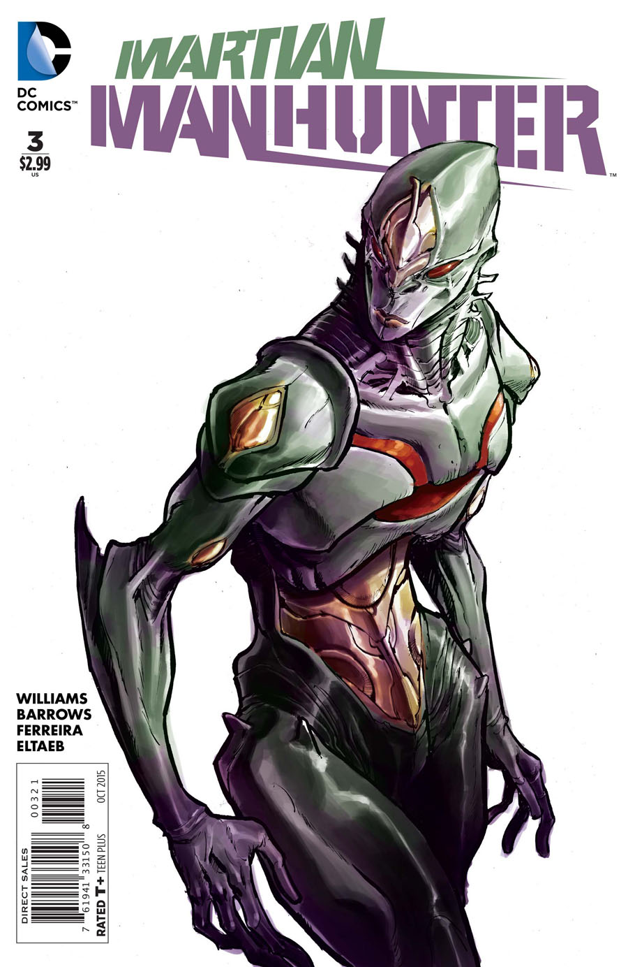 Martian Manhunter Vol 4 #3 Cover B Incentive Eric Canete Variant Cover