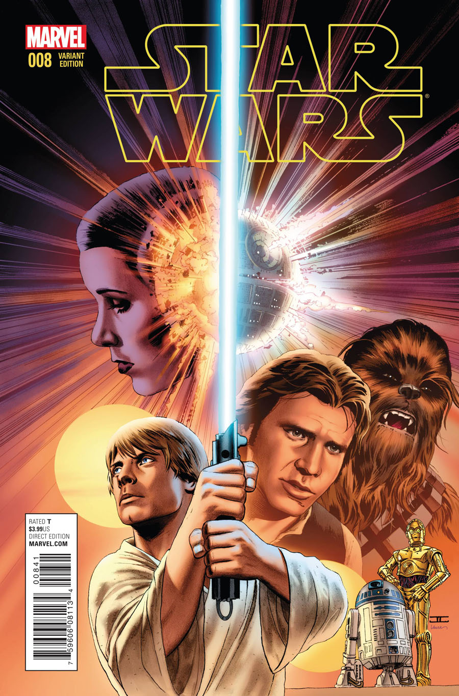 Star Wars Vol 4 #8 Cover C Incentive John Cassaday Variant Cover