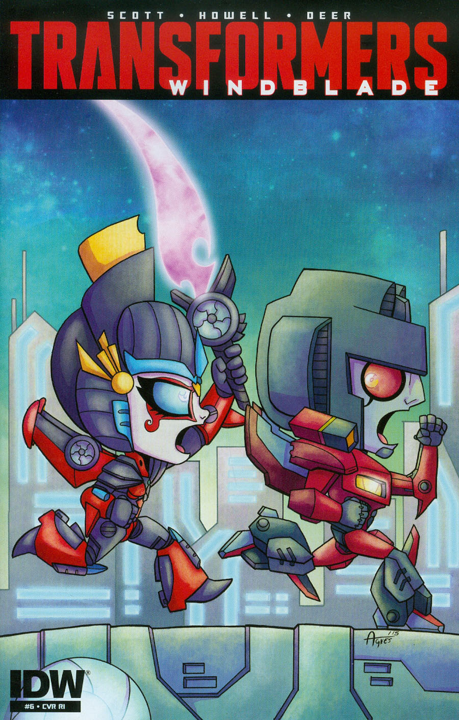 Transformers Windblade Vol 2 #6 Cover C Incentive Agnes Garbowska Variant Cover